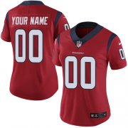 Wholesale Cheap Nike Houston Texans Customized Red Alternate Stitched Vapor Untouchable Limited Women's NFL Jersey