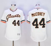 Wholesale Giants #44 Willie McCovey White Flexbase Authentic Collection Cooperstown Stitched Baseball Jersey