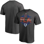 Wholesale Cheap New York Mets Majestic 2019 Spring Training Grapefruit League Winner Big & Tall T-Shirt Gray