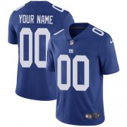 Wholesale Cheap Nike New York Giants Customized Royal Blue Team Color Stitched Vapor Untouchable Limited Men's NFL Jersey