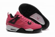 Wholesale Cheap Womens Air Jordan 4 Shoes Red/White