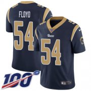 Wholesale Cheap Nike Rams #54 Leonard Floyd Navy Blue Team Color Men's Stitched NFL 100th Season Vapor Untouchable Limited Jersey