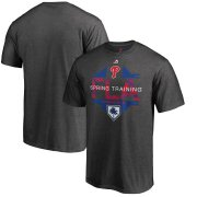 Wholesale Cheap Philadelphia Phillies Majestic 2019 Spring Training Grapefruit League Winner Big & Tall T-Shirt Gray