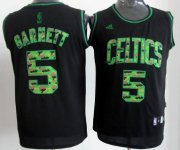 Wholesale Cheap Boston Celtics #5 Kevin Garnett Black Camo Fashion Jersey