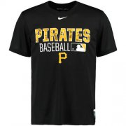 Wholesale Cheap Pittsburgh Pirates Nike 2016 AC Legend Team Issue 1.6 T-Shirt Black