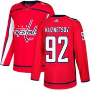 Wholesale Cheap Adidas Capitals #92 Evgeny Kuznetsov Red Home Authentic Stitched NHL Jersey