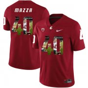 Wholesale Cheap Washington State Cougars 40 Blake Mazza Red Fashion College Football Jersey