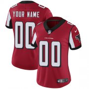 Wholesale Cheap Nike Atlanta Falcons Customized Red Team Color Stitched Vapor Untouchable Limited Women's NFL Jersey