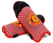 Wholesale Cheap Manchester United Soccer Shin Guards Red