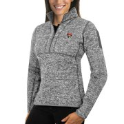 Wholesale Cheap Florida Panthers Antigua Women's Fortune 1/2-Zip Pullover Sweater Black