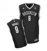 Wholesale Cheap Brooklyn Nets #9 MarShon Brooks Black Swingman Jersey