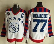 Wholesale Cheap Bruins #77 Ray Bourque White All Star CCM Throwback 75TH Stitched NHL Jersey