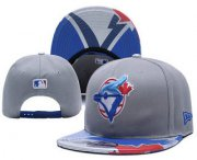 Wholesale Cheap MLB Toronto Blue Jays Snapback Ajustable Cap Hat 5