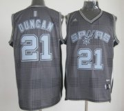 Wholesale Cheap San Antonio Spurs #21 Tim Duncan Black Rhythm Fashion Jersey