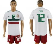 Wholesale Cheap Mexico #12 Cota Away Soccer Country Jersey