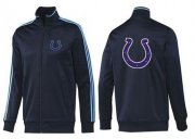 Wholesale NFL Indianapolis Colts Team Logo Jacket Dark Blue