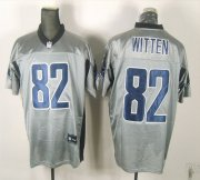 Wholesale Cheap Cowboys #82 Jason Witten Grey Shadow Stitched NFL Jersey