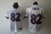 Wholesale Cheap Ravens #82 Torrey Smith White Stitched NFL Jersey