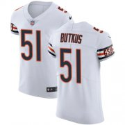 Wholesale Cheap Nike Bears #51 Dick Butkus White Men's Stitched NFL Vapor Untouchable Elite Jersey
