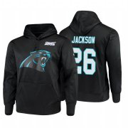 Wholesale Cheap Carolina Panthers #26 Donte Jackson Nike NFL 100 Primary Logo Circuit Name & Number Pullover Hoodie Black