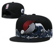 Wholesale Cheap Portland Trail Blazers Snapback Ajustable Cap Hat YD
