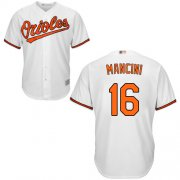 Wholesale Cheap Orioles #16 Trey Mancini White New Cool Base Stitched MLB Jersey