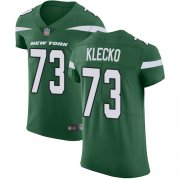 Wholesale Cheap Nike Jets #73 Joe Klecko Green Team Color Men's Stitched NFL Vapor Untouchable Elite Jersey