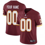Wholesale Cheap Nike Washington Redskins Customized Burgundy Red Team Color Stitched Vapor Untouchable Limited Men's NFL Jersey