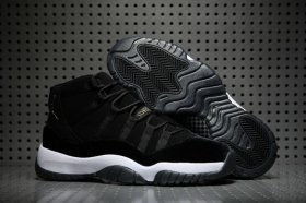 Wholesale Cheap Women\'s Jordan 11 Retro Shoes Black White