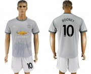 Wholesale Cheap Manchester United #10 Rooney Sec Away Soccer Club Jersey