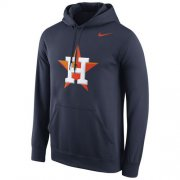 Wholesale Cheap Houston Astros Nike Logo Performance Navy Pullover MLB Hoodie