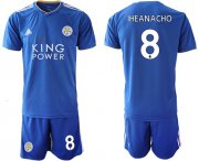 Wholesale Cheap Leicester City #8 Iheanacho Home Soccer Soccer Club Jersey