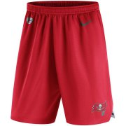 Wholesale Cheap Tampa Bay Buccaneers Nike Sideline Vapor Performance Shorts Red