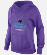 Wholesale Cheap Women's Carolina Panthers Big & Tall Critical Victory Pullover Hoodie Purple