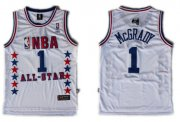 Wholesale Cheap NBA 2003 All-Star #1 Tracy McGrady White Swingman Throwback Jersey