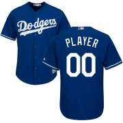 Wholesale Cheap Los Angeles Dodgers Majestic Cool Base Custom Jersey Royal