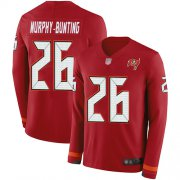 Wholesale Cheap Nike Buccaneers #26 Sean Murphy-Bunting Red Team Color Men's Stitched NFL Limited Therma Long Sleeve Jersey