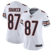 Wholesale Cheap Nike Bears #87 Adam Shaheen White Women's Stitched NFL Vapor Untouchable Limited Jersey