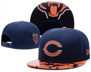 Wholesale Cheap NFL Chicago Bears Stitched Snapback Hats 027