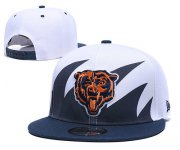 Wholesale Cheap Bears Team Logo Blue Peaked Adjustable Hats