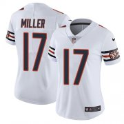 Wholesale Cheap Nike Bears #17 Anthony Miller White Women's Stitched NFL Vapor Untouchable Limited Jersey