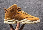 Wholesale Cheap Womens Air Jordan 6 Retro Shoes Wheat/Tan