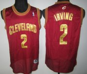 Wholesale Cheap Cleveland Cavaliers #2 Kyrie Irving Red Swingman Jersey