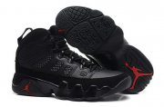 Wholesale Cheap Womens Air Jordan 9 Retro Shoes Black/red