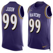Wholesale Cheap Nike Ravens #99 Matthew Judon Purple Team Color Men's Stitched NFL Limited Tank Top Jersey