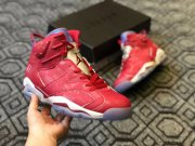 Wholesale Cheap Air Jordan 6 Retro Slam Dunk Red/White