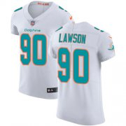 Wholesale Cheap Nike Dolphins #90 Shaq Lawson White Men's Stitched NFL New Elite Jersey