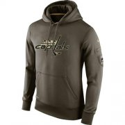 Wholesale Cheap Men's Washington Capitals Nike Salute To Service NHL Hoodie