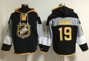 Wholesale Cheap Blackhawks #19 Jonathan Toews Black 2016 All-Star NHL Hoodie