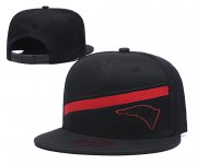 Wholesale Cheap Patriots Team Logo Black Adjustable Hat LT